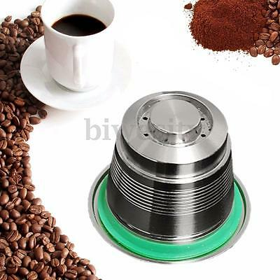 Stainless Steel Refillable Reusable Coffee Capsule Pod Cup For Nespresso Machine