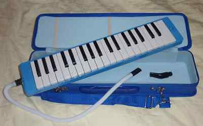 Brand New Melodica 37 keys with Carrying Case (blue)
