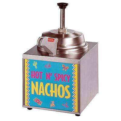 Star Nacho  (3Wla-Hs) Lighted  Cheese Warmer With Heated Pump