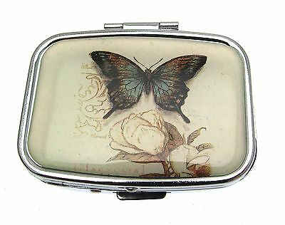 Small Pill Box Pill Case Pillboxes Pill Holder Butterfly Gifts Randomly Picked