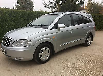 2009 Ssangyong Rodius 2.7TD diesel 75000 miles S/History 7 seats