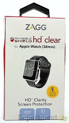 Zagg Invisible Shield HD Clear (Apple Watch 38mm)