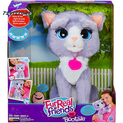 FurReal Friends Kitty Bootsie Toy, Interactive Cat Pet