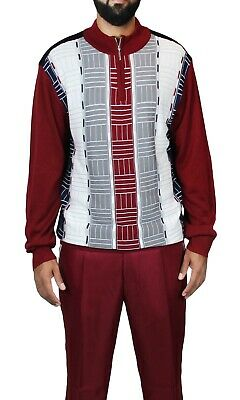 Men's Two-Piece Walking Set Sp-77 (Sweater And Pants)