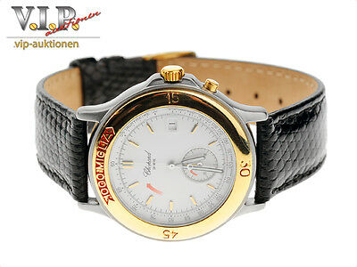 Chopard 1000 Miglia Montre Chronograph Uhr Herrenuhr Stahl/18K Gold Unisex Watch