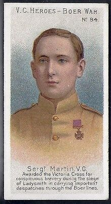 Taddy-Victoria Cross Heroes Vc V.c-#084- Quality Card!!!