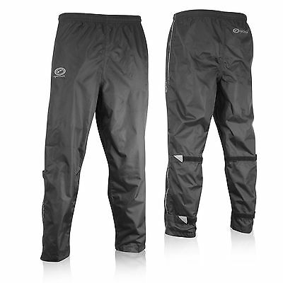 Optimum Cycling 100% Showerproof Overtrousers - Black