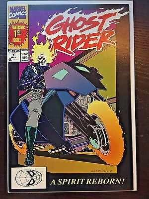 Ghost Rider (1990 2nd Series) #1 9.2 NM- Near Mint- Marvel Comics Copper Age