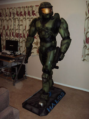 Life / Full Size Statue - Halo Master cheif