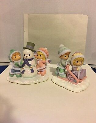 Precious Moments Flurry Of Friendship Collection 2005 Lot