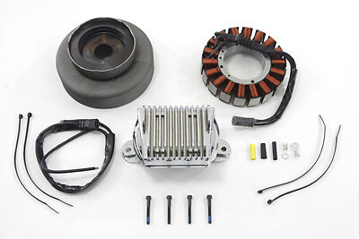 V-Twin 32-1278 - Alternator Charging System Kit 50 Amp