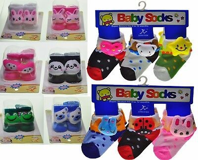 12-60 Pairs Wholesale Job Lot Cotton New Socks for Baby Children size 0-12M, NEW
