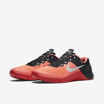 Nike Metcon 2 Women's Trainers Shoes Gym Cross Fit Mango Various Sizes BRAND NEW