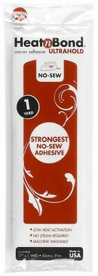 1yd/93cm Heat N Bond Ultra Hold Iron On Adhesive Appliqué Fabric Patch Quilting