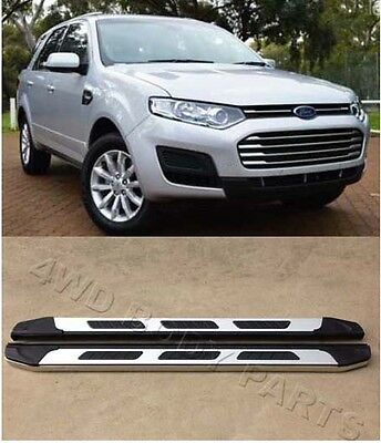(452) Ford Territory 2004 to 2016 Aluminium Side Steps Running Boards