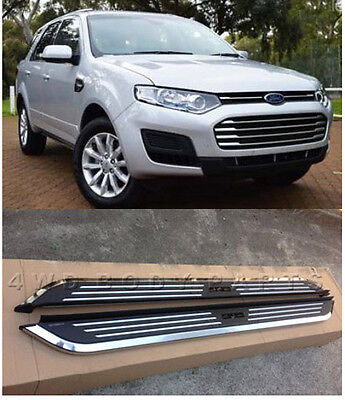(#450) Ford Territory 2004 to 2016 Aluminium Side Steps Running Boards