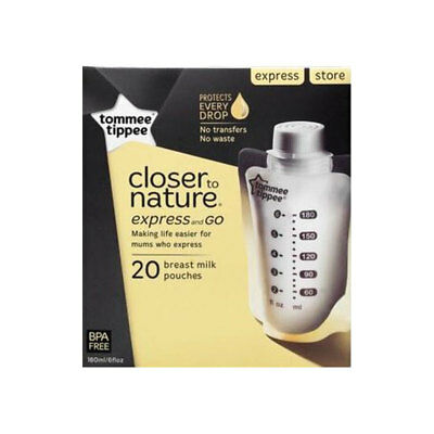 Tommee Tippee Closer to Nature Express & Go Pouches 20 Pack
