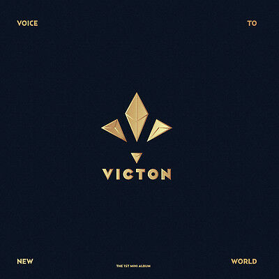 VICTON - Voice To New World (1st Mini Album) CD+Photocard+Poster