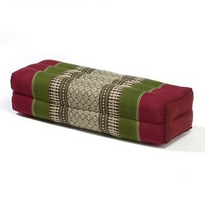 My Zen Home Bolster- Army/Red