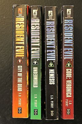 Resident Evil Lot of 4 Books by SD Perry Books 3-6