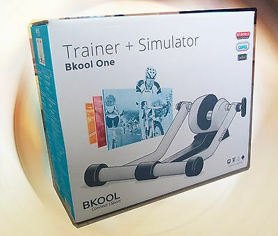 BKool ONE Cycling Trainer (compatible with Simulator Software) White