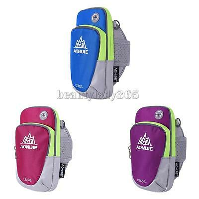 Sports Running Cycling Jogging Armband Arm Band Bag Pouch for Mobile Phone Keys