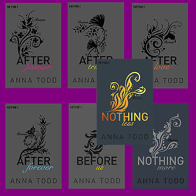Anna Todd - AFTER Band 1-7 - After Band 1+2+3+4+5+6+7 - Set - Erotik Portofrei