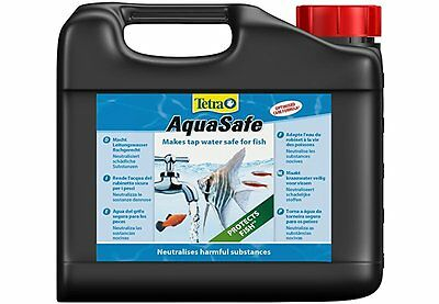 Tetra Aquasafe Water Conditioner for fish safe aquarium water, 5 Litre