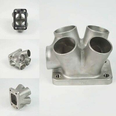 Hypertune Investment Cast Stainless Steel T3 EWG Turbo Manifold Collector Flange