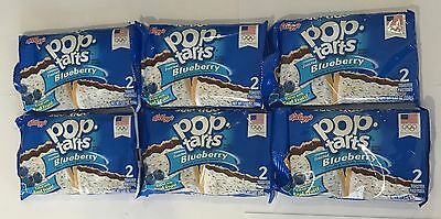 902688 6 x 104g 2-PACK POP TARTS - FROSTED BLUEBERRY - TOASTER PASTRIES