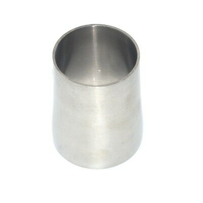 51MM to 45MM Sanitary Weld Reducer Pipe Fittings Stainless Steel SS304