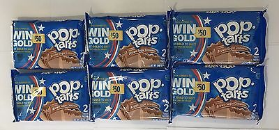 908216 6 x 100g 2-PACK POP TARTS - FROSTED BROWN SUGAR CINNAMON - PASTRIES - USA