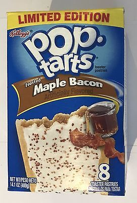 909090 400g BOX OF 8 POP TARTS - FROSTED MAPLE BACON - LIMITED EDITION!