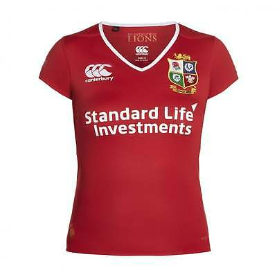 Canterbury Lions Womens Replica Pro Jersey - Red