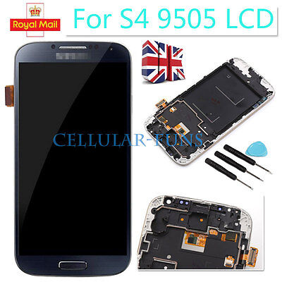 Blue For Samsung Galaxy S4 I9505 LCD Touch Display Screen Digitizer Replacement