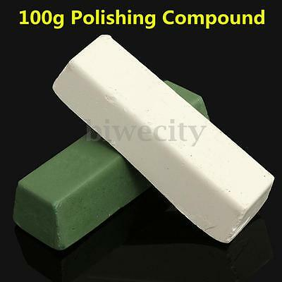 White/Green Abrasive Polishing Paste Compounds For Brass Metal Grinding Buffing