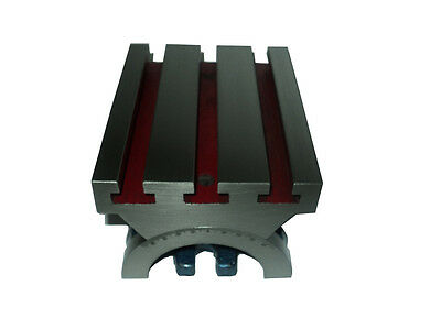 """New Tilting Table 4"""" x 5"""" (100 x 125 mm) for Milling Machines Precision Ground"""
