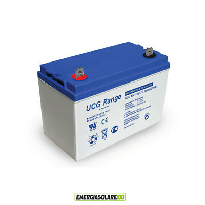 Batterie Ultracell GEL 100Ah 12V série UCG DEEP CYCLE
