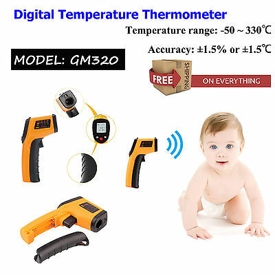 Thermometer Gun Non-contact Infrared IR Digital Temperature Tester FDA Approved