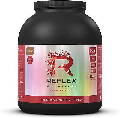 REFLEX INSTANT WHEY PRO 2.2KG - Lean Low Carb Whey Protein Powder (All Flavours)
