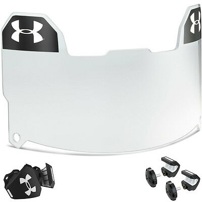 Under Armour Adult Football Visor - Clear - FREE SHIPPING