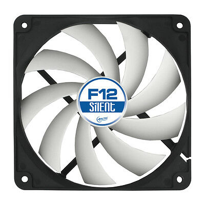 Arctic F12 Silent 120mm High Performance PC Cooling Case Fan 6 Year Warranty