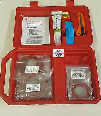 Silicone 60 Shore O-Ring Cord Splicing Kit. Contains Various Cords & Accessories