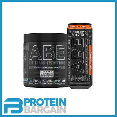 Applied Nutrition ABE All Black Everything Pre Workout + FREE Steel Shaker!