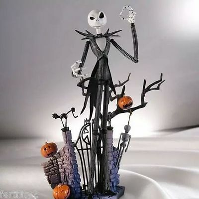 UK New The Nightmare Before Christmas Jack Skellington Figure Set Toy 7'' In Box