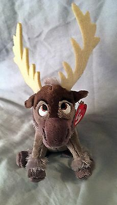 Sven Ty Beanie Baby - From the movie Frozen -  MWMT - FREE SHIPPING