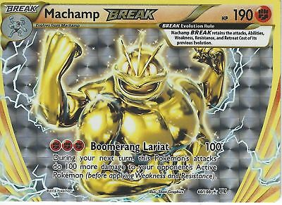 Pokemon Xy Evolutions - Machamp Break 60/108 Rare Holo
