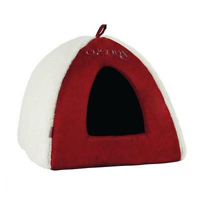 Panier chat - Igloo Cocoon - terracotta