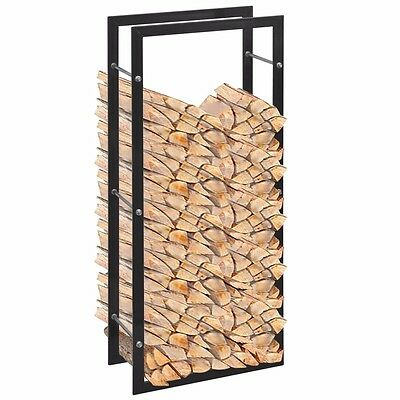 Wood Log Storage Fireplace Firewood Store Logs Solid Fireside Rack Accessory