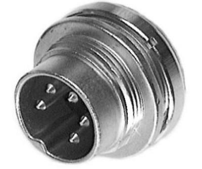 Amphenol C 091 A Series 12 Pole Panel Mount Connector Plug, 20mm Shell Size